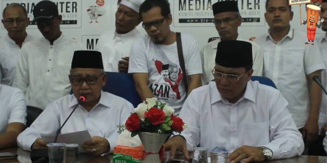 Video: Penyerahan KTP dukungan pasangan Zaini Abdullah – Nasaruddin ke KIP Aceh