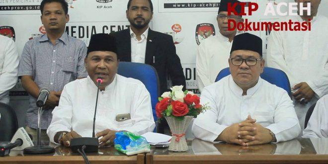 Video: Penyerahan KTP dukungan pasangan Abdullah Puteh – Sayed Mustafa ke KIP Aceh