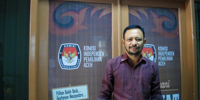 Komisioner KIP Aceh, Hendra Fauzi. [Foto: AW]