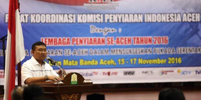 Plt Gubernur Aceh, Soedarmo. [Foto: Humas Aceh]