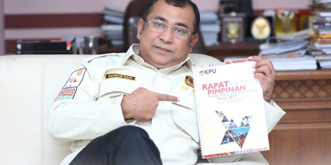Ketua KIP Aceh, Ridwan Hadi