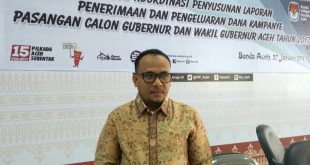 Komisioner KIP Aceh, Junaidi