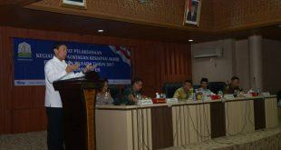 Plt Gubernur Sambut Menkopolhukam Wiranto 1-2