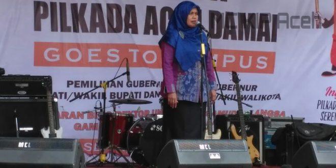 Pembantu Rektor III Unsam, Dr Nurlina