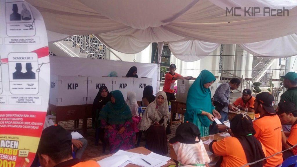 TPS Gampong Pineung, Banda Aceh