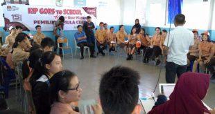 Sosialisasi pungut hitung di SMA Methodist | Foto-foto: Aprizal | MC KIP Aceh