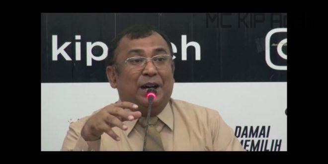 Video: Perhitungan Suara, KIP Aceh Hanya Keluarkan Real Count