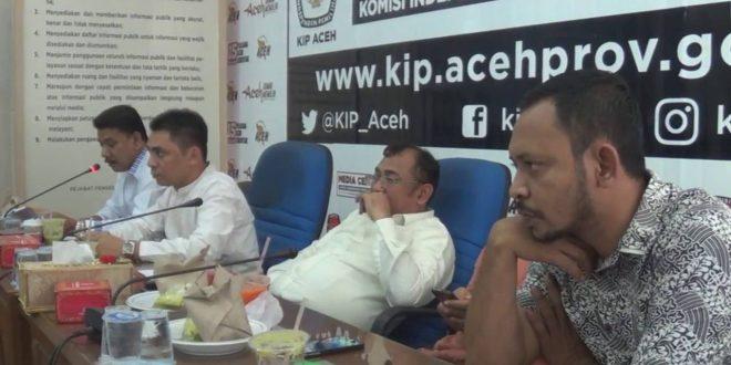 Video: Pleno KIP Aceh terkait Administrasi Calon