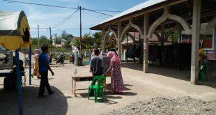 Suasana TPS di Gampong Lampoh Blang, Kecamatan Krueng Sabe, Aceh Jaya