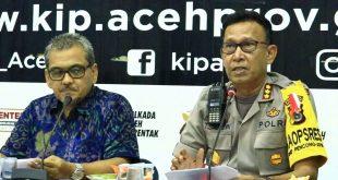 Video: Pengamanan Jelang Rapat Pleno KIP Aceh