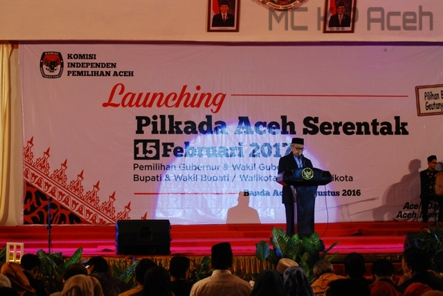 Launching Pilkada Gub