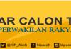 PENGUMUMAN DAFTAR CALON TETAP (DCT) DPRA